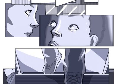 STORYBOARDS - Feature film storyboards.