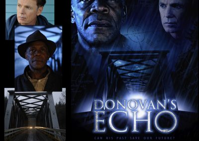POSTER DESIGN - Original poster design for Donovan's Echo.